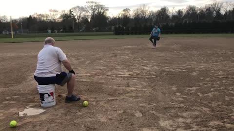 Softball Pitching KED 11-10-2020