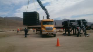Crane Work - Plant Field Assembly South America 2 of 5