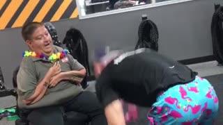 Disabled Man Turns Bodybuilder