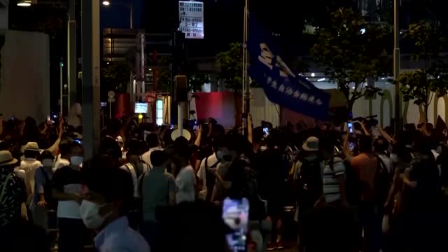 Protesters in Tokyo call for Games to be cancelled