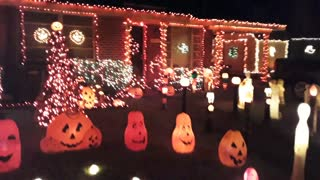 2019 Halloween Display Night time