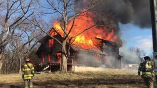 Control Burn. Fire Training
