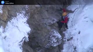 frozen mountain climbing gone wrong.mp4