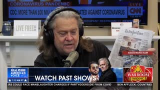 Bannon Reveals Big Media's Next Phase of Information Warfare on Covid Vaccines
