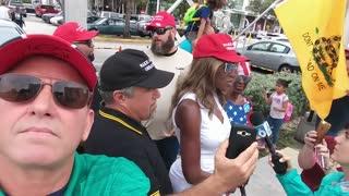 Black Trump supporter harassed