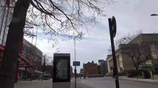Sheffield city centre lockdown part 2 Saturday