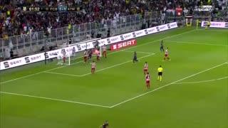 Gol de Griezmann vs Atletico Madrid