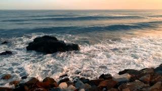 wonderful beach wonderful sunset