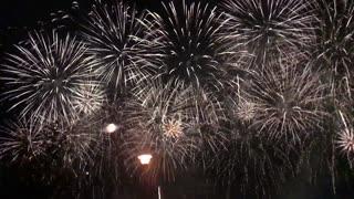 SLOWMO! The amazing fireworks show.