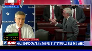 Wall to Wall: Economist Stephen Moore on Stimulus, Inflation Part 1