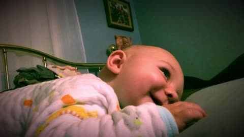 If this doesn't make you smile (my grandson laughing at a dog toy)
