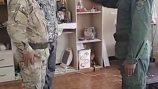 Militar broma