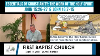 Adult Sunday School - April 11, 2021
