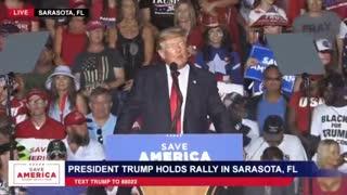 President Trump Rally Democrats Defunding Police