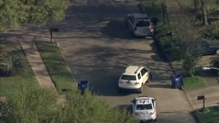 HIGHLIGHTS: Police Pursuit Goes Off Road In Houston