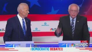 Sanders calls Trump a racist during Dem debate