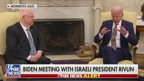 President Biden Has a AWKWARD Moment, Brings Up Daughter of Israeli President