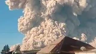 Indonesia's Sinabung Volcano