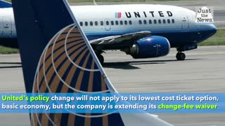 United Airlines to eliminate ticket-change fees for domestic flights in appeal to customers
