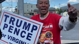 Donald Trump supporter claims Trump will Positively win