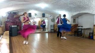 """Show ballet """"N.T.Steps"""" Lindy hop"""