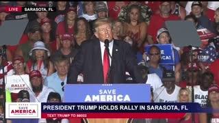 "President Trump - Sarasota Rally: ""Who Shot Ashli Babbitt?!"""