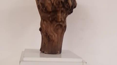 Statue of wood