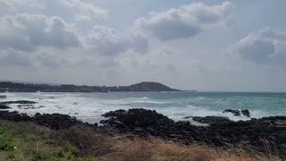 South Korea Jeju Island Seascape
