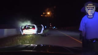 High Speed Pursuit Ends In Crash and Apprehension