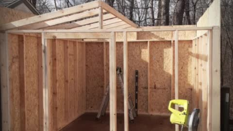 Shed removal and Rebuild 10x12