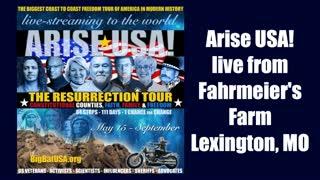 Arise USA is live from Wahoo, Nebraska.