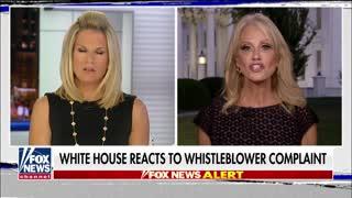 Kellyanne Conway slams Ukraine call 'whistleblower'