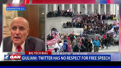 Giuliani: Twitter has no respect for free speech