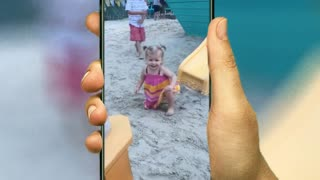Funny Fails baby video clips and cute baby fall down video clips
