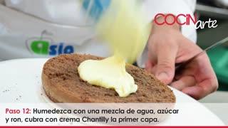 Receta Cocinarte: Postre Everest