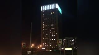 house with amazing lighting