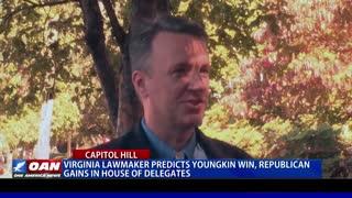Va. lawmaker predicts Youngkin win, Republican gains in House of Delegates