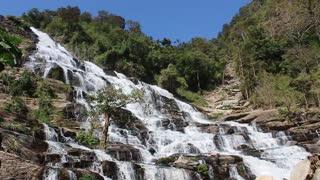 relaxing waterfall v