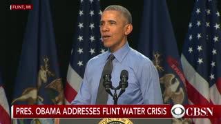 Flashback when Obama addressed the Flint water crisis