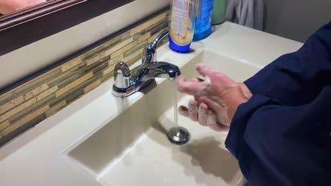 Michael Myers Hand washing Tutorial to prevent The Coronavirus