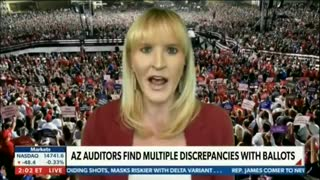 """Trump Spox on AZ Audit: """"Crime Was Committed on Nov. 3rd - This Is a Fraud"""""""