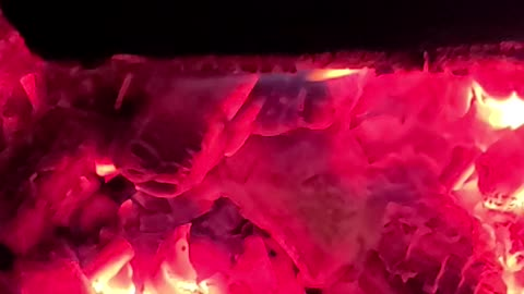 Night at bonfire