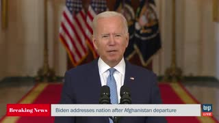 Biden Blames the People He Stranded in Afghanistan for His Disaster