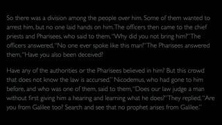 The Gospel of John - Chapter 7