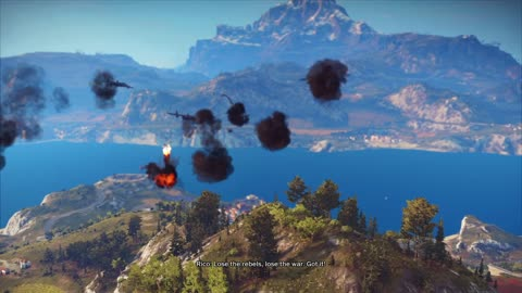 Just Cause 3 Demo Gameplay part 12 Missile Cow boy Mission start