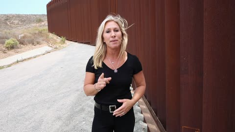 Congresswoman Marjorie Taylor Greene Witnesses Biden's Border Crisis