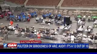JOVAN PULITZER ON SERIOUSNESS OF ARIZONA AUDIT: IT'S A 12 OUT OF 10