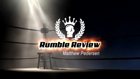 Our NEW! #RumbleReview intro! thank you God for Aedo from #FabWorks
