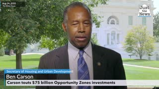 Carson touts $75 billion Opportunity Zones investments