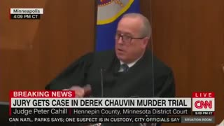 Judge in Chauvin Trial ANNIHILATES Maxine Waters for Calls for Violence